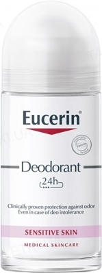 Антиперспирант роликовый Eucerin Deo 24 часа защиты, для гиперчувствительной кожи, 50 мл