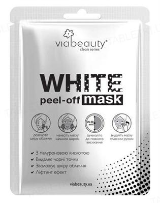 Маска-пленка Via Beauty WHITE Mask с гиалуроновой кислотой, 10 мл