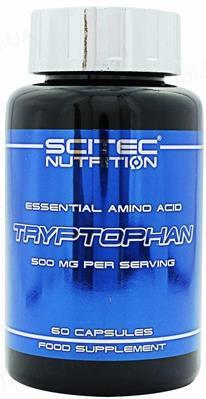 Аминокислота Scitec Nutrition Tryptophan, 60 капсул