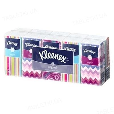 Платочки бумажные Kleenex Original белые №10х10