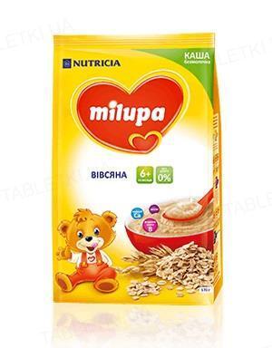 Безмолочна каша Milupa вівсяна для дітей від 6 місяців, 170 г