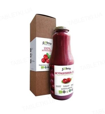 Паста ягодная LiQberry Клюква, 1 л