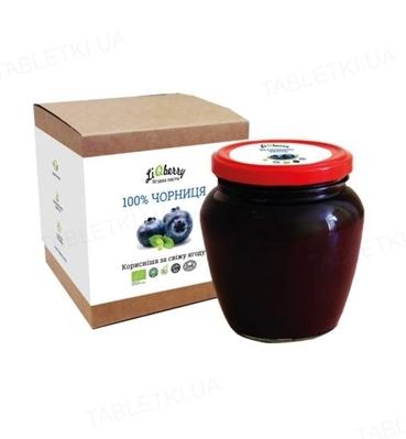 Паста ягодная LiQberry Черника, 550 г
