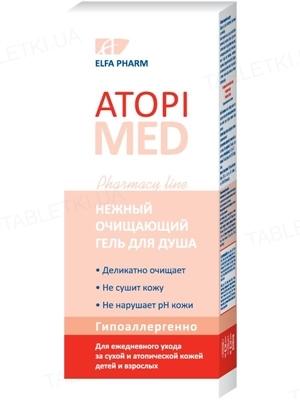 Гель для душа Elfa Pharm Atopi Med Нежный очищающий, 150 мл