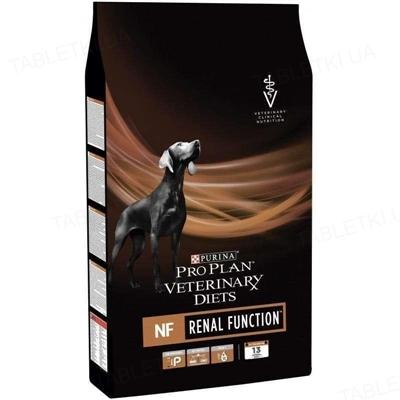 Корм сухой Purina Pro Plan Veterinary Diets NF для собак c заболеваниями почек, 3 кг
