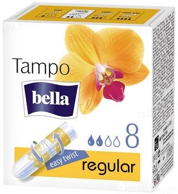 Тампоны гигиенические Bella Tampo Premium Comfort regular, 8 штук
