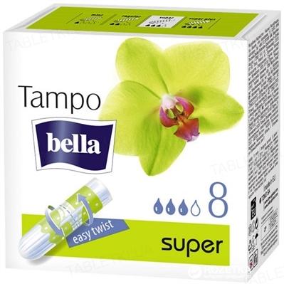 Тампоны гигиенические Bella Tampo Premium Comfort super 8 штук