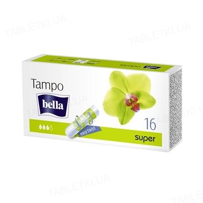 Тампоны гигиенические Bella Tampo Premium Comfort super, 16 штук