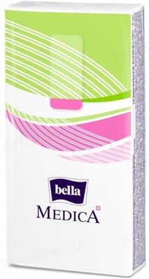 Хустинки паперові носові гігієнічні Bella Medica тришарові, 9 штук