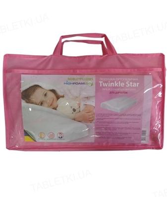 Подушка ортопедическая детская Noble Twinkle Star для девочек
