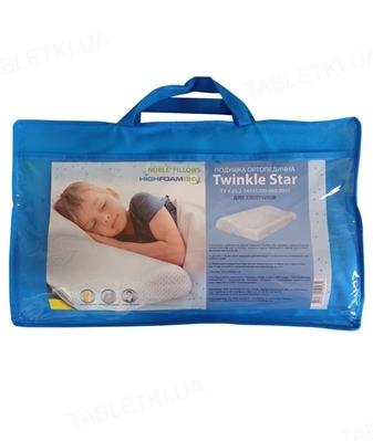 Подушка ортопедическая детская Noble Twinkle Star для мальчиков