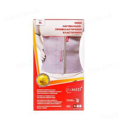 Пояс лечебно-профилактический ReMed R4103 эластичный, размер XL