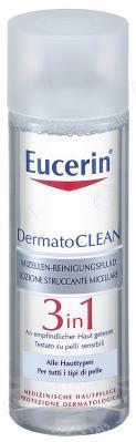 Мицеллярный флюид Eucerin DermatoClean очищающий 3в1, 200 мл