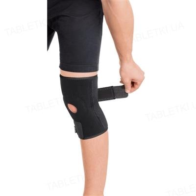 Бандаж для коленного сустава Торос Груп 517 неопреновый, 2 ребра жесткости, размер 2 (M)