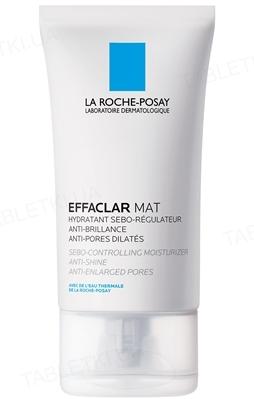 Засіб для обличчя La Roche-Posay Effaclar Mat зволожуючий, себорегулюючий, проти блиску і розширених пор, 40 мл