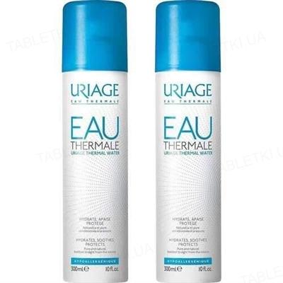 Набор Uriage термальная вода Uriage Eau Thermale, 2 флакона по 300 мл
