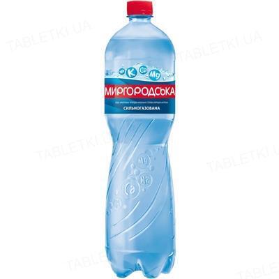 Вода минеральная Миргородская сильногазированная, 1,5 л