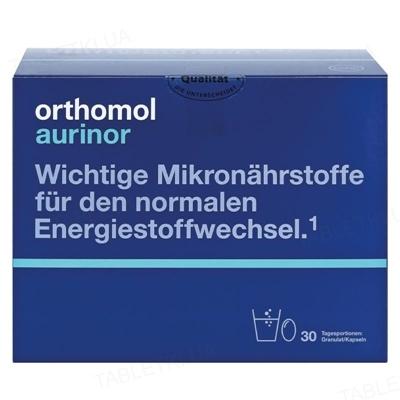 Ортомол Aurinor капсулы + порошок, курс 30 дней