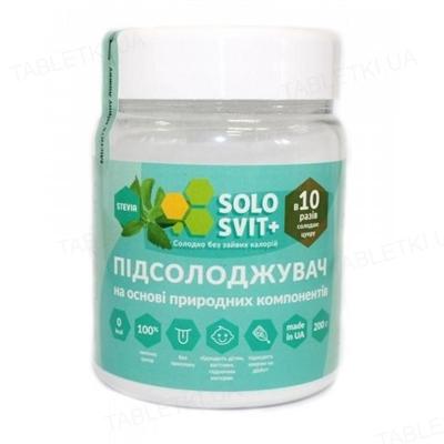 Подсластитель СолоСвит Stevia +, 200 г