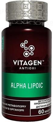 Вітаджен №21 ALPHA-LIPOIC капсули №60 у флак.