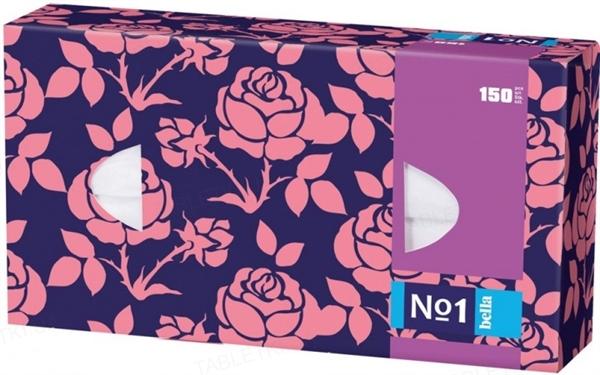 Платки бумажные универсальные Bella №1 двухслойные, 150 штук