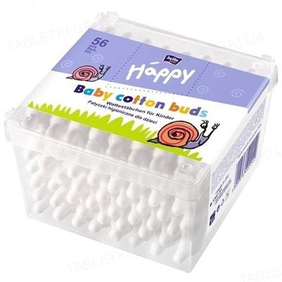 Палочки ватные гигиенические для детей Bella Baby Happy, 56 штук