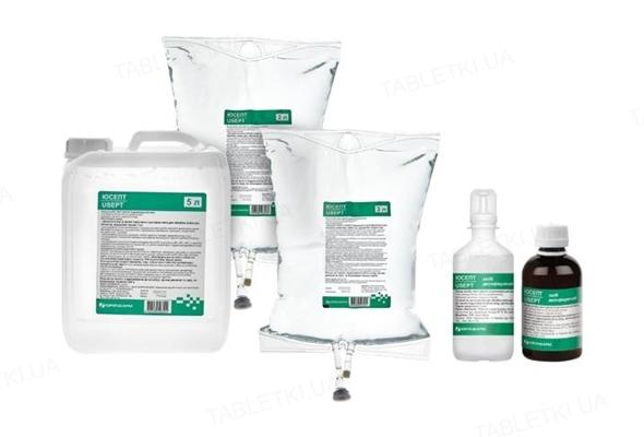Юсепт раствор дезинфицирующий 0,2 мг/мл по 5000 мл в кан. полим.