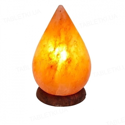Лампа соляная SaltLamp Капля, 3-4 кг