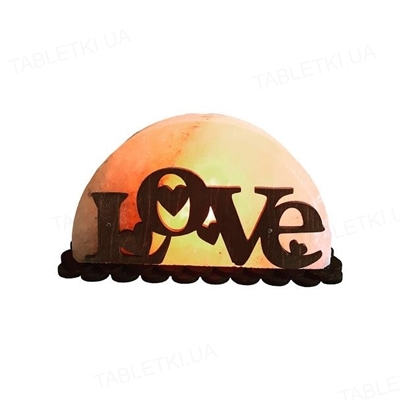 Лампа соляная SaltLamp Любовь, 1,5 кг