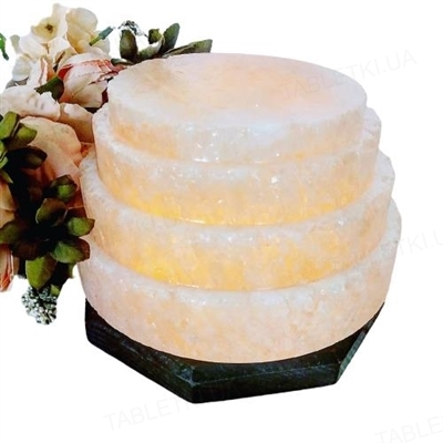 Лампа соляная SaltLamp Пагода, 3-4 кг