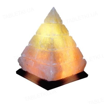 Лампа соляная SaltLamp Пирамида, 4-5 кг