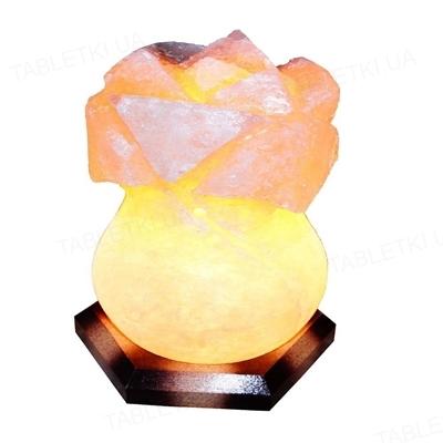 Лампа соляная SaltLamp Роза, 3-4 кг