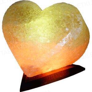 Лампа соляная SaltLamp Сердце, 4-5 кг