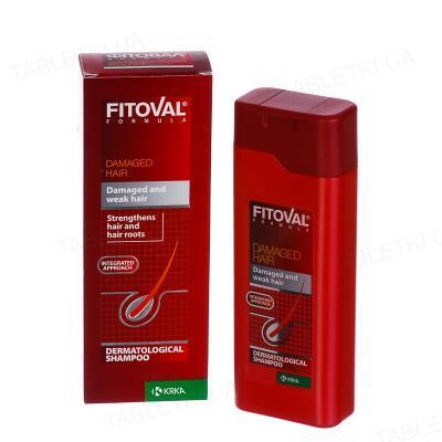 Шампунь Фитовал Формула для поврежденных волос, 200 мл
