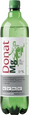 Вода минеральная Donat Mg газированная, лечебная, 1 л