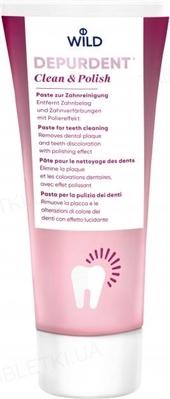 Зубная паста Dr. Wild Depurdent для очищения и полировки зубов, 75 мл