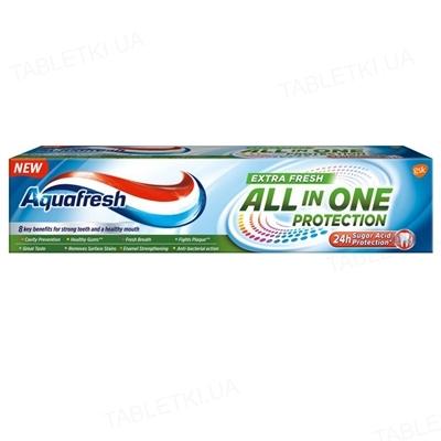 Зубная паста Aquafresh Защита все в одном, Экстра свежесть, 100 мл