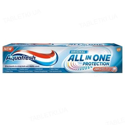 Зубная паста Aquafresh Защита все в одном, Оригинал, 100 мл