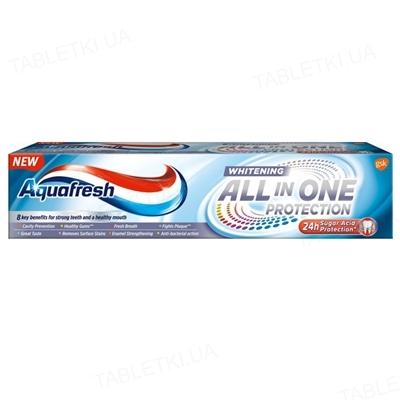 Зубная паста Aquafresh Защита все в одном, Отбеливающая, 100 мл