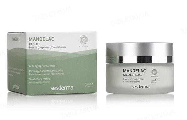 Крем Sesderma Mandelac увлажняющий для сухой кожи лица, 50 мл