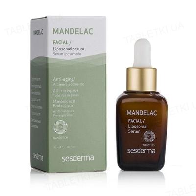 Сыворотка Sesderma Mandelac липосомальная антивозрастная для всех типов кожи, 30 мл