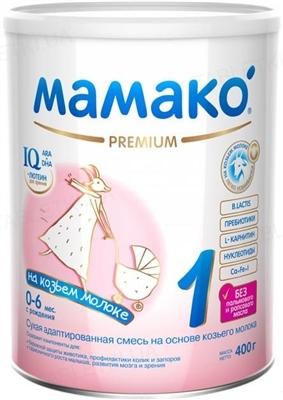 Сухая молочная смесь MAMAKO 1 Premium с 0 до 6 месяцев, 400 г