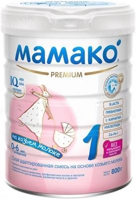 Сухая молочная смесь MAMAKO 1 Premium с 0 до 6 месяцев, 800 г