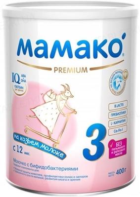 Сухая молочная смесь MAMAKO 3 Premium с 12 месяцев, 400 г