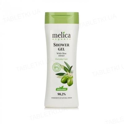 Гель для душа Melica Organic с экстрактом оливкового масла, 250 мл