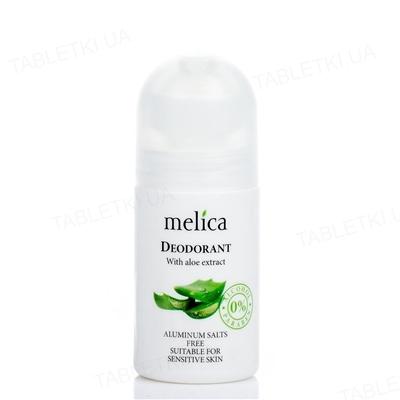 Дезодорант Melica Organic с экстрактом алоэ, 50 мл