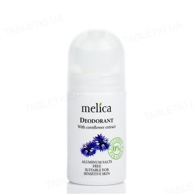 Дезодорант Melica Organic с экстрактом василька, 50 мл