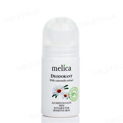 Дезодорант Melica Organic с экстрактом ромашки, 50 мл