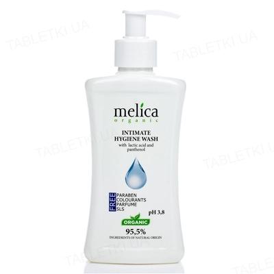 Гель для интимной гигиены Melica Organic с молочной кислотой и пантенолом, 300 мл