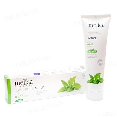 Зубная паста Melica Organic c экстрактом мяты, 100 мл